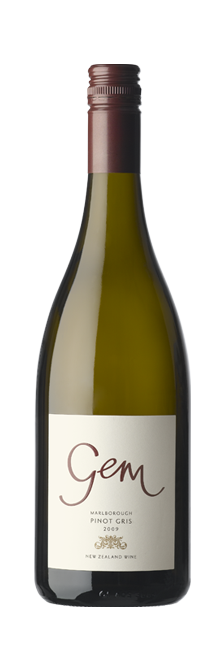 Gem Marlborough Pinot Gris 2009